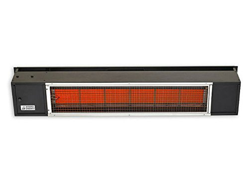 Sunpak 48-inch 25,000 Btu Natural Gas Infrared Patio Heater - Black - S25 B-ng ()