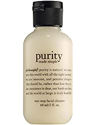 Philosophy Purity Made Simple 3-in-1 Cleanser For Face And Eyes - One-Step Facial Cleanser 1 oz