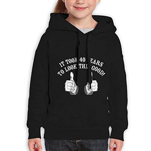 FDFAF Teenager Youth It Took 40 Years To Look This Good! Camper Particular Hoodie Hooded Sweatshirt L - Sunglasses Odd Future