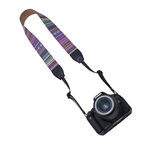 VKO Camera Shoulder Strap Compatible for Sony A6500 A6300 A7SII A7S A7 A7II A68 A77II A3000 A6000 A5000 A5100 NEX-6 A99 RX1 RX1R A7R A7RII RX10II RX10III A99 A99II Vintage Neck Strap