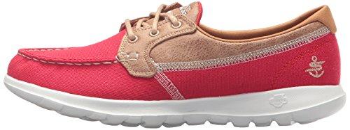 Chaussure Skechers Femme Bateau Lite 15430 Go Walk Rouge AgfgP
