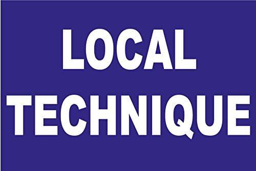 Panneau Local technique