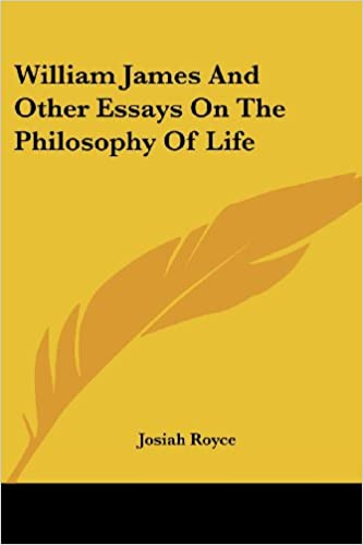 Protein Synthesis Essay Amazoncom William James And Other Essays On The Philosophy Of Life   Josiah Royce Books Business Etiquette Essay also Essay About Health Amazoncom William James And Other Essays On The Philosophy Of Life  Thesis For An Analysis Essay
