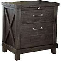 Modus Furniture 7YC981 Yosemite Solid Wood Nightstand, Cafe