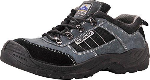 Portwest - Botas para hombre multicolor negro/gris