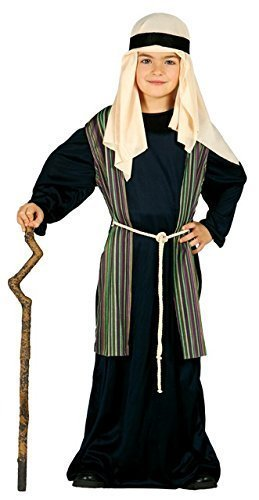 BOYS SHEPHERD FANCY DRESS COSTUME CHRISTMAS NATIVITY PLAY JOSEPH OUTFIT XMAS