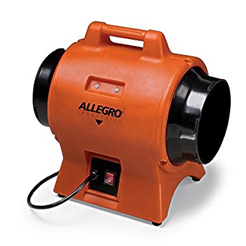 Allegro Industries 9539-08 Industrial Plastic Blower, 8