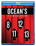 Ocean's 8: 4-Film Collection Cover - Blu-ray