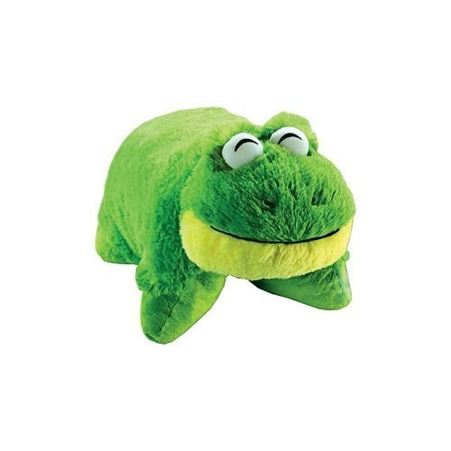 PeeWee Frog Pillow Pets