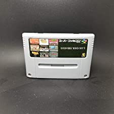Game for SNES - EUR Verison - Super 100 in 1 Japan NTSC Game Cartridge Batman Robin Castlevania IV Clay Fighter Contra III Cotton Megaman X Hagane Goof Troop - Game Cartridge 16 Bit SNES , cartridge snes