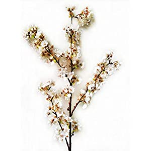 Ahvoler Artificial Cherry Blossom Branches Flowers Stems Silk Tall Fake Flower Arrangements Home Wedding Decoration,39 Inch 4
