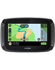 TomTom Navigatie Motor Rider 500 (4.3 inch met voor de motor afgestemde kronkelende en heuvelachtige routes, Geschikt voor Siri en Google Now, Kaart Europa, Updates via Wi-Fi)