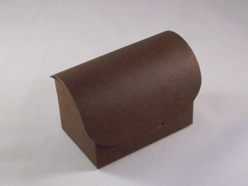 10 x Brown Chest Wedding Favour Boxes (Stella Chest)