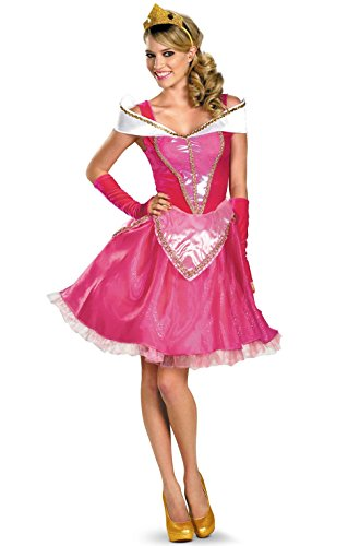 [Mememall Fashion Princess Aurora Sassy Deluxe Adult Halloween Costume] (Deluxe Beetlejuice Adult Halloween Costumes)