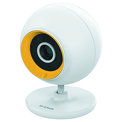 D-Link Wi-Fi Baby Monitor - Night Vision, 2-Way Audio, Local and Remote Video Monitor App for iPhone and Android (DCS-800L)