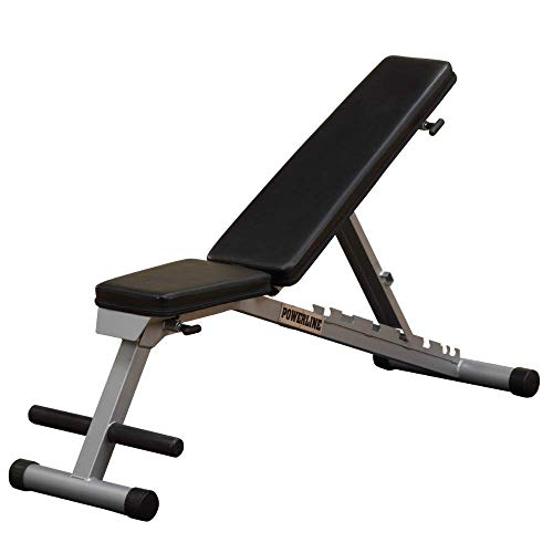 Powerline by Body-Solid Flat Incline Decline Folding Multi-Bench (PFID125X)