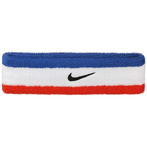 Nike Swoosh Headband Habanero RED/Black OSFM by Nike (Image #1)