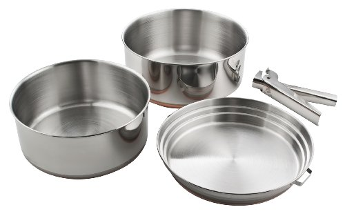 Chinook 41030 Plateau Cookset Stainless ()