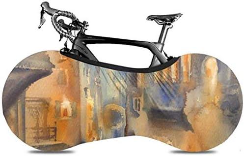 UQ Galaxy Cubierta De Bicicleta,Vista Veneciana Pintura Al Óleo ...