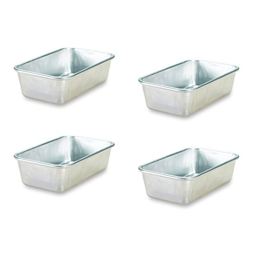 Nordic Ware Natural Aluminum Commercial Mini Loaf Pans, - Mini Ware