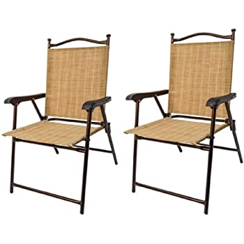 This Item Greendale Home Fashion Outdoor Sling Back Chairs, Set Of 2