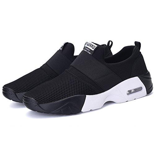 Running Con Palestra Multi Ginnastica Air Scarpe Da Traspiranti Sport Uomo Donna Cuscino Nero Sneakers Athletic Fitness Wealsex Per Jogging xwfvz6q6H