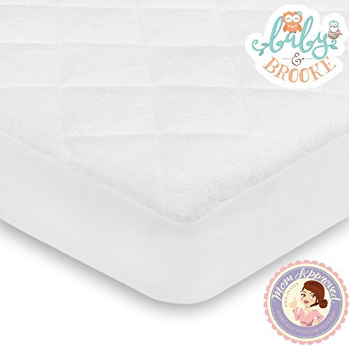 Baby and Brooke Organic Crib Mattress Cover Pad