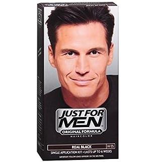 Buy Just for Men Brush-In Color Gel for Mustache & Beard Real ...