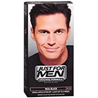 Just For Men Shampoo-In Haircolor, Real Black H-55