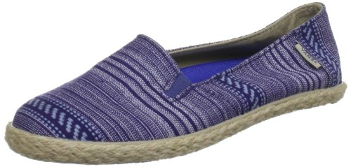 Vans Donna Bixie Mexis Surf Siders, Navy, 7
