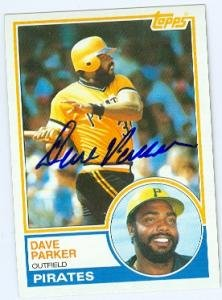 Dave Parker autographed Baseball Card (Pittsburgh Pirates) 1983 Topps #205 ()
