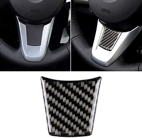 ZHYNA Auto Carbon Lenkrad einfarbig dekorative Aufkleber for BMW Z4 2009-2015