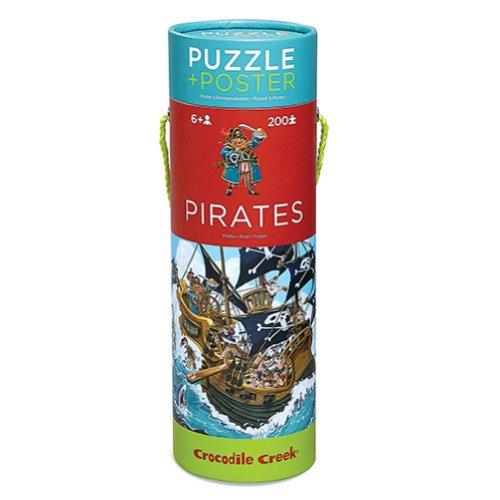 Free Crocodile Creek Pirates Puzzle & Poster - 200 Piece