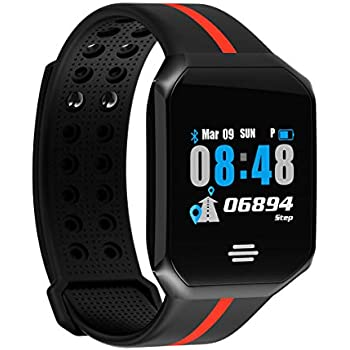 Amazon.com: Smart Watch, Sports Fitness Tracker, Day ...