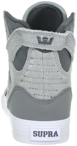 Supra Grigio grau Adulto Gry Sneaker - Skytop White grey S18162 Unisex