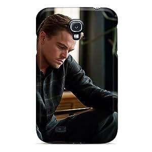 New Cute Funny Celebrity Leonardo Dicaprio Inception Case Cover/ Galaxy S4 Case Cover