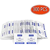 Pre-Moistened Lens Cleaning Wipes, Wet and Dry Wipes 300 pcs, for Lens Eyeglasses Glasses Screen iPhone Cell Phone, Remove smudges and Dirt Effectively, no More Scratches Streaks Residue (300)