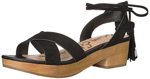 Sandalo Con Tacco Jenna Sam Edelman Donna Nero