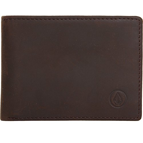 - Volcom Leather Wallet One Size Brown