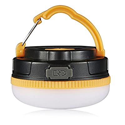 LighTouch Rechargeable Camping Lantern,Tent Lights ,Outdoor Portable LED Light, Camping Lantern Built-in Magnet,Ultra Bright 180 Lumens Emergency Light