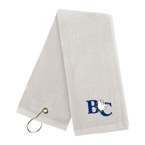 Barton White Golf Towel 'Official Logo' by CollegeFanGear