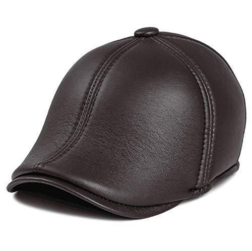 GAIGAIWARM Sombrero de Punto Sombrero de Invierno para Hombres Sombrero de Hombre Sombrero de Invierno otoñal Protección 329