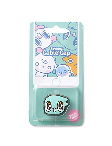 Spoonz Cellphone Cable Organizer Cap Cindy - Cable Winder Holder Management and Tangle Free Wire Organizer Adhesive Holders for Any Types of Phone Chager Gift for Holiday Nuest Nu'est Fans