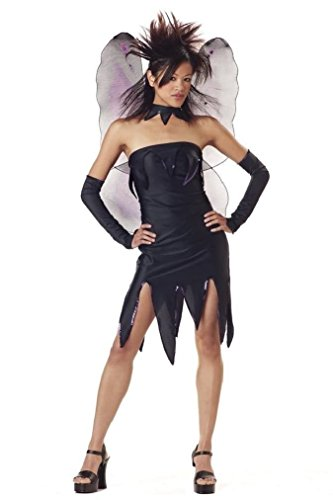 Fancy Evil Pixie Gothic Fairy Teen Costume (Little Red Riding Hood Halloween Costume Teenager)