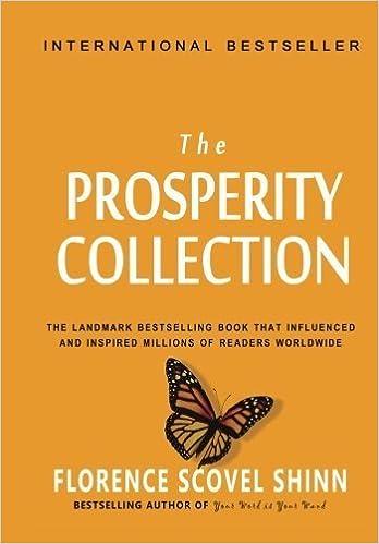 Book Florence Scovel Shinn: The Prosperity Collection by Florence Scovel Shinn (2010-09-09)