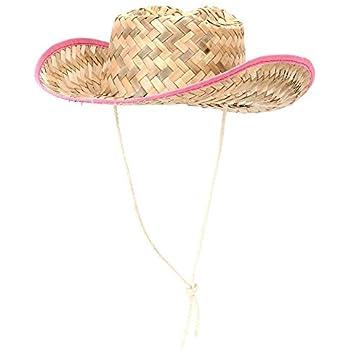 0615d61e7a224 Amazon.com  Dozen Straw Cowboy Hats for Kids - Makes Great Birthday ...