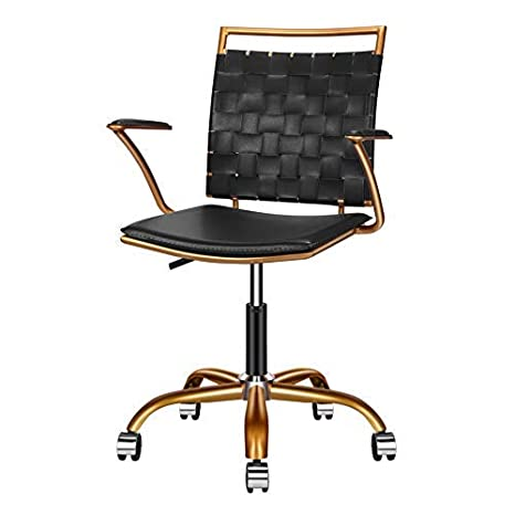 detailed pictures d357b 8afea Amazon.com: LUXMOD Home Office Chairs Ergonomic Vegan ...