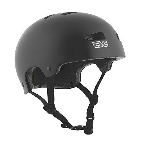 TSG - Kraken Solid Color - Helmet for Bicycle Skateboard (satin black, L/XL 57-59 cm)