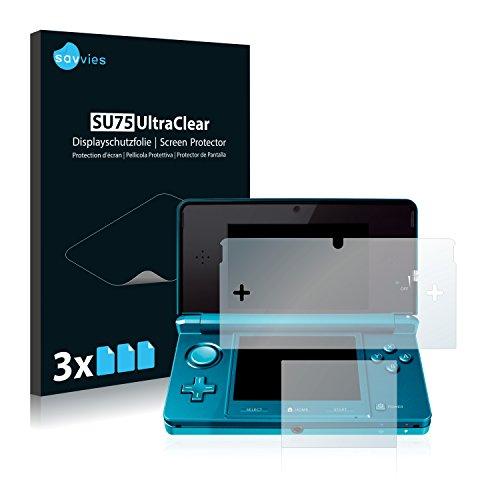 6x Displayschutzfolie für Nintendo 3DS Folie Schutzfolie Displayfolie - Klar