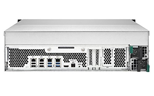 QNAP 16 Bay 3U NAS 16GB iSCSI (TVS-EC1680U-SAS-RP-16G-R2)